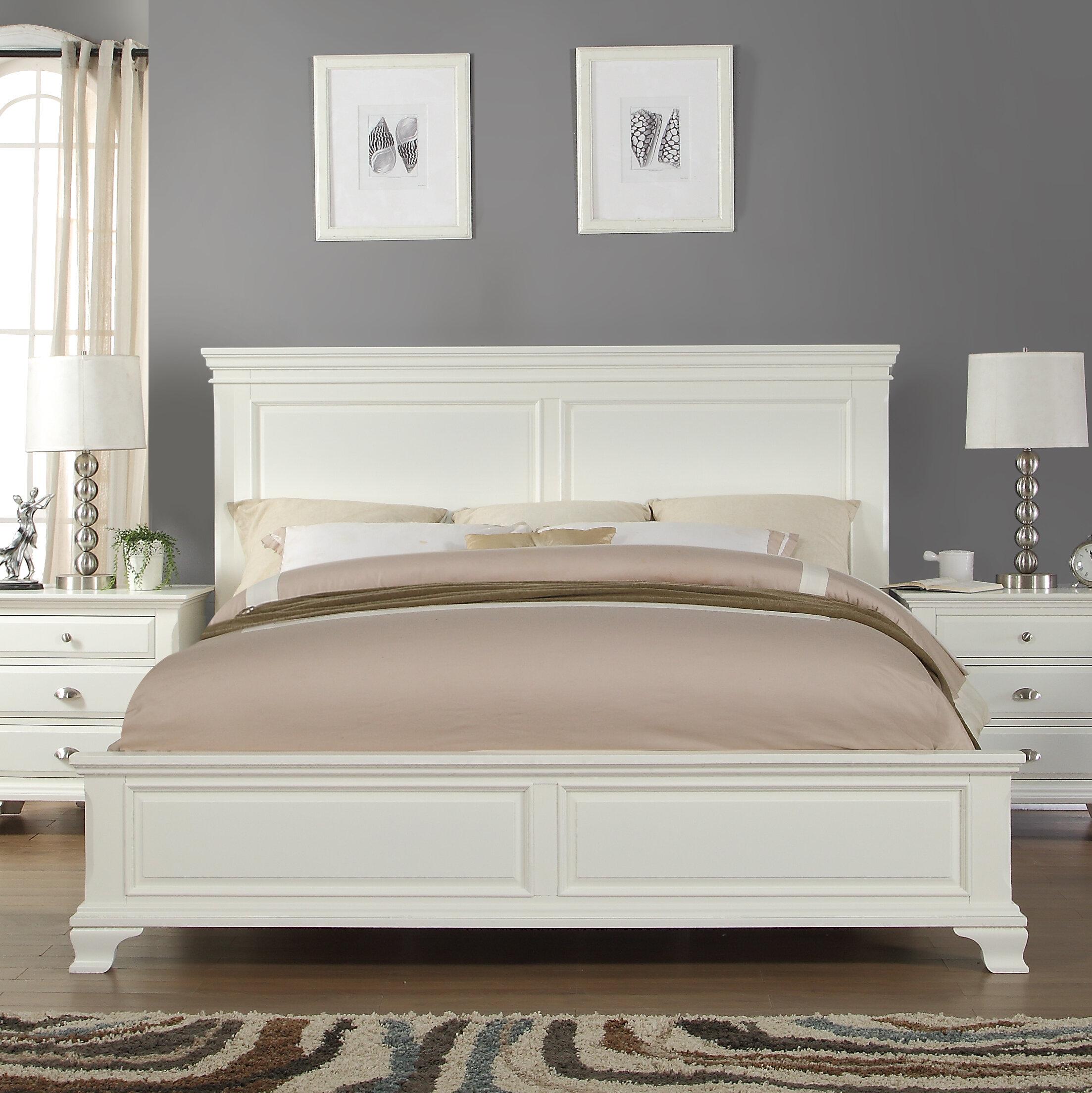 Greenport Solid Wood Platform Configurable Bedroom Set