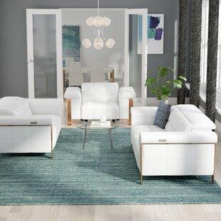 Orren Ellis Paine Reclining 3 Piece Living Room Set