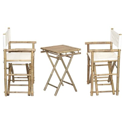 3 Piece Bistro Set by Bamboo54 Discount
