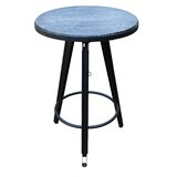 Dortch Adjustable Height Swivel Pub Table by Ebern Designs