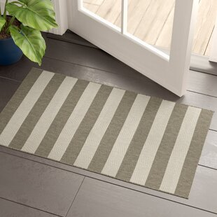 Gallinas Flatweave Tan/Ivory Indoor/Outdoor Area Rug