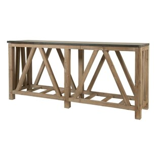 Eliana Rectangular Wooden Console Table by Foundry Select