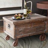 Mello Lift Top Wheel Coffee Table with Storage by Millwood Pines