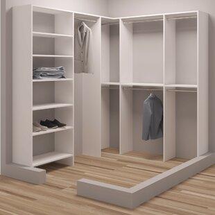 Demure Design 75W - 90.25W Closet System ByTidySquares Inc.