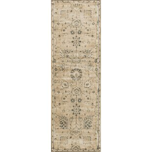 Check Prices Keever Sand/Charcoal Area Rug ByAlcott Hill