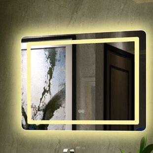 Where buy  Bode Embedded LED Bathroom Mirror ByOrren Ellis