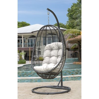 Gentil Swing Chair With Stand