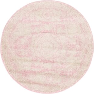 Boldt Pink Area Rug by Bungalow Rose