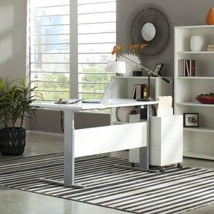 Murphree Adjustable Wood Standing Desk by Latitude Run