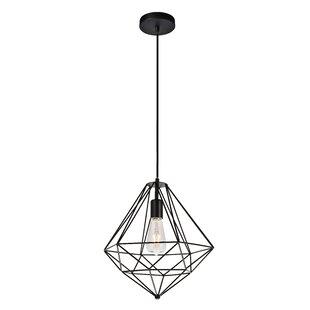 Wrought Studio Reinoso 1-Light Geometric Pendant
