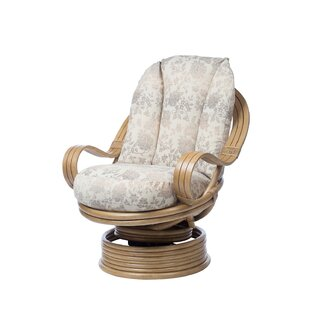 Freese Swivel Rocking Chair By Beachcrest Home