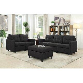 Wetherby 3 Piece Living Room Set by Ebern Designs SKU:DB310505 Details