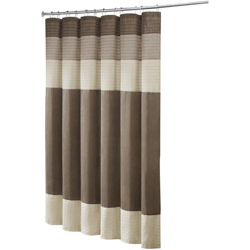 navy and tan shower curtain. Morell Shower Curtain Curtains You ll Love  Wayfair