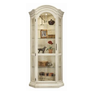 Darby Home Co Shelia Corner Curio Cabinet