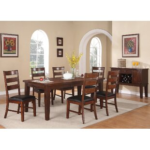 Postell 7 Piece Dining Set Loon Peak