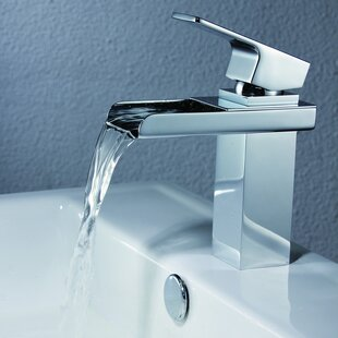 Best Deck Mount Waterfall Bathroom Sink Faucet with Hoses By Sumerain International Group