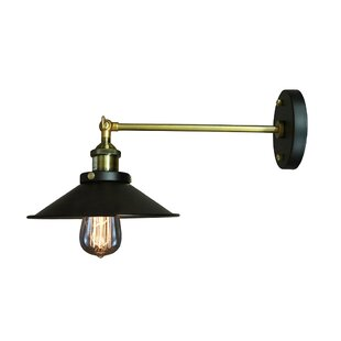 Compare Dorothy Edison 1 Light Wall Sconce By Warehouse of Tiffany