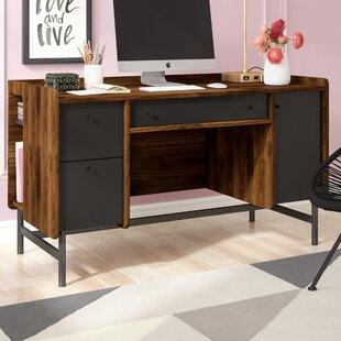 Price comparison Posner Rectangular Desk ByMercury Row