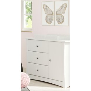 Crescent 3 Drawer Combo Dresser