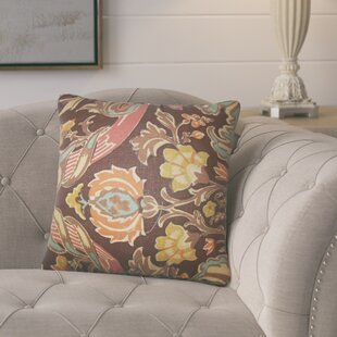 Mohall Floral Linen Throw Pillow Cover