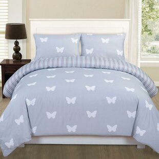Dunand 3 Piece Reversible Comforter Set