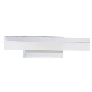 Latitude Run Apodaca 1-Light LED Bath Bar