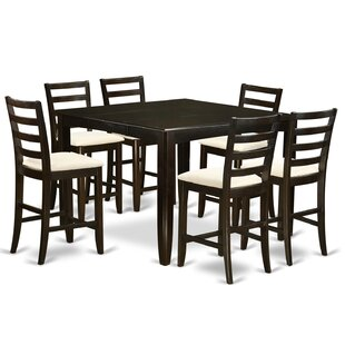 Krull 7 Piece Counter Height Dining Set