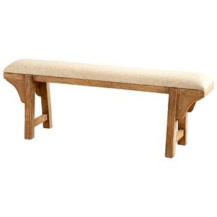 Cyan Design Gable Wood Bench