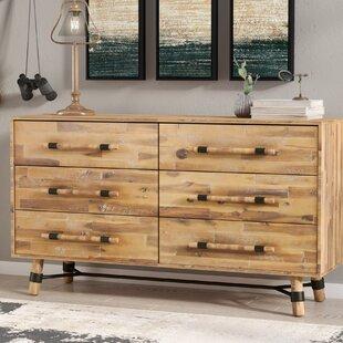 Treyton 6 Drawer Double Dresser