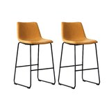 Daves 27.5 Bar Stool (Set of 2) by 17 Stories
