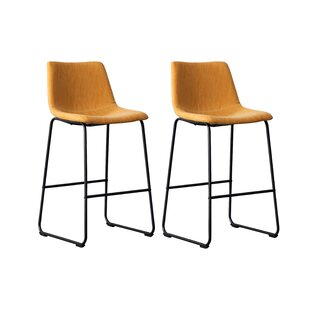 Daves 275 Bar Stool Set of 2 by 17 Stories