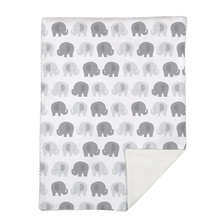 Lolli Living Bailey Elephant Stroller Blanket Wayfair