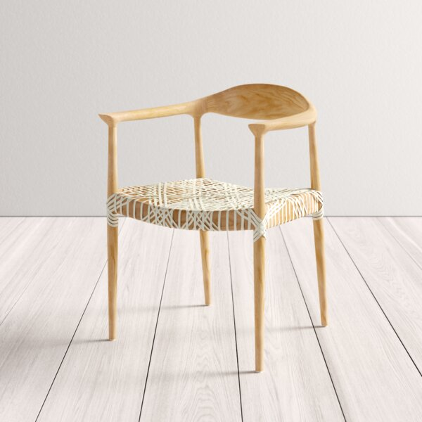 Groovy Modern Contemporary Woven Leather Chair Allmodern Inzonedesignstudio Interior Chair Design Inzonedesignstudiocom