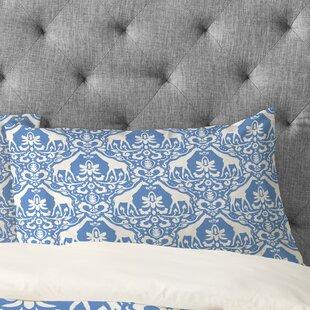 Jacqueline Maldonado Giraffe Damask Pale Pillowcase