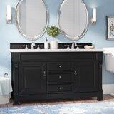 Vivanco 60 Double Bathroom Vanity Set by Darby Home Co