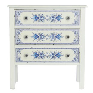 Best Reviews Fordyce French Countryside 3-Drawer Accent Chest By Bungalow Rose