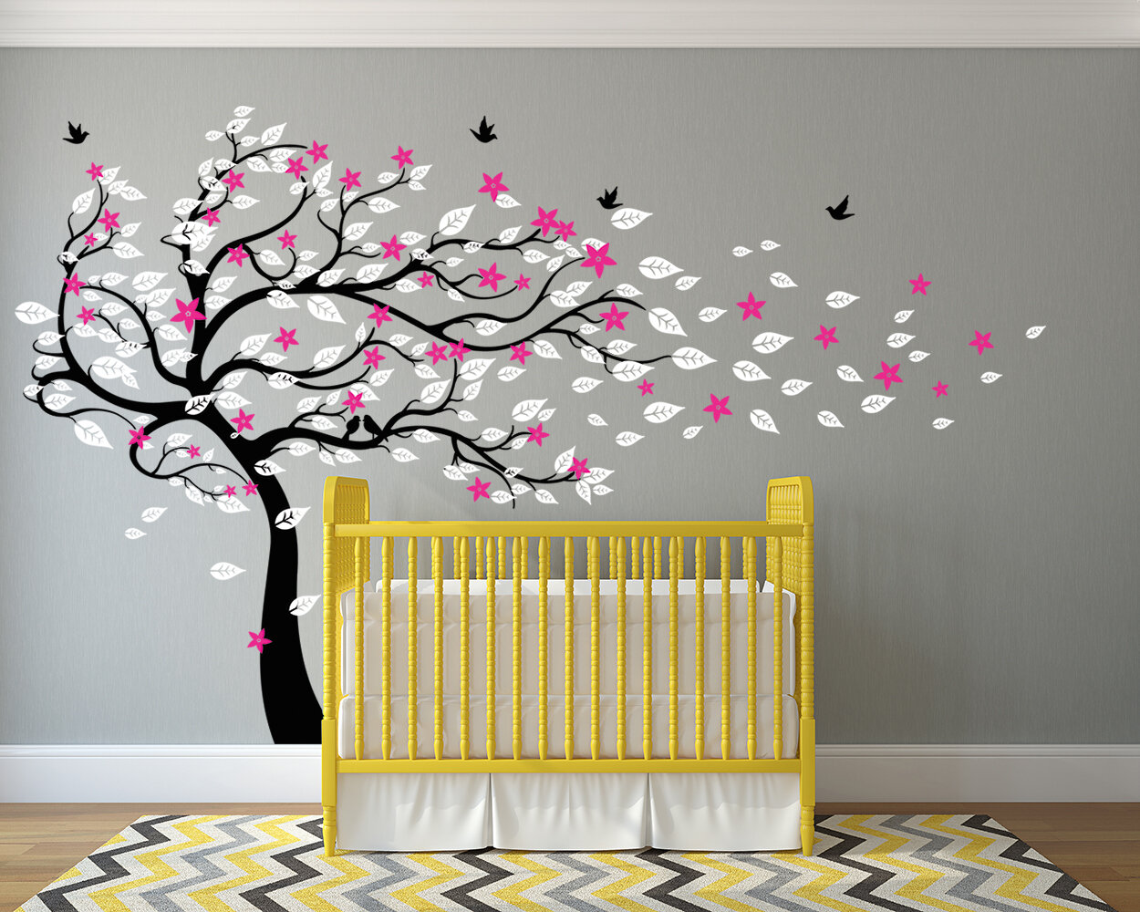Wall Birds Decor Gallery - home design wall stickers