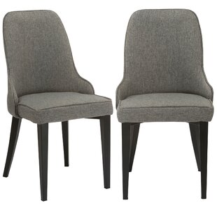 Erasmus Upholstered Dining Chair (Set of ..