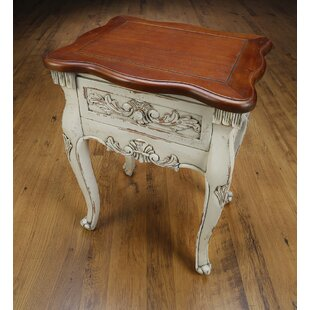 Cynthia End Table with Storage