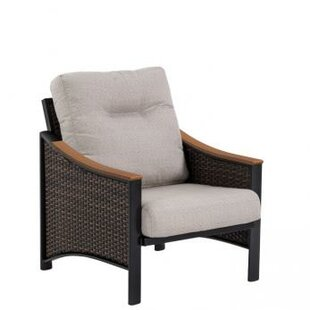 Tropitone Brazo Woven Patio Chair with Cu..