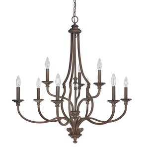 Jaclyn 9-Light Candle-Style Chandelier
