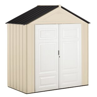7 Ft. W X 3 Ft. 6 In. D Plastic Tool Shed By Rubbermaid