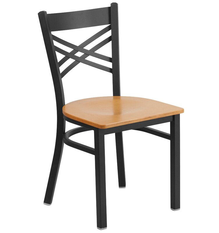 Winston Porter Chafin Cross Back Dining Chair