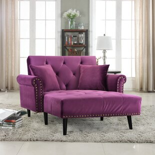 Tilstone Chaise Lounge By House of Hampton