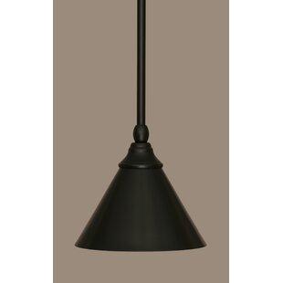 Du 1-Light Cone Pendant by Gracie Oaks