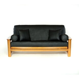 Full Box Cushion Futon Slipcover by Lifestyle Covers Fresh
