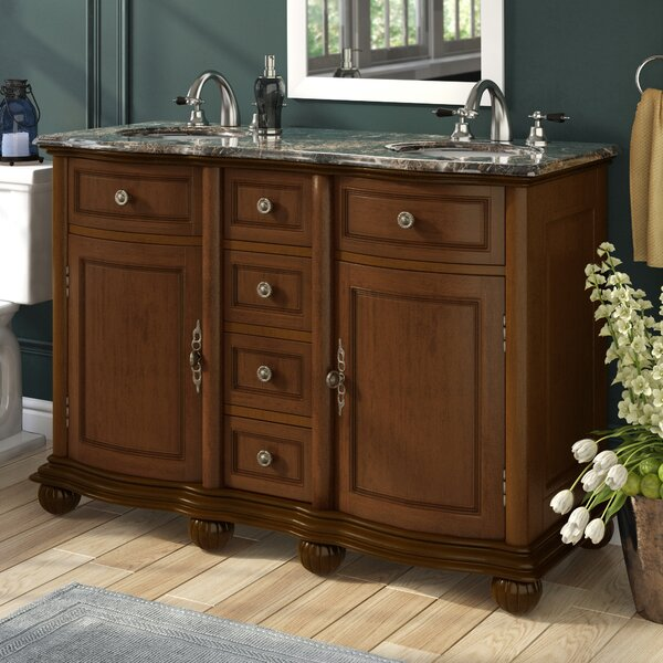 Alcott Hill Quintara 52 Double Bathroom Vanity Set Reviews Wayfair