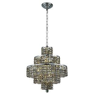 Rosdorf Park Bratton Modern 13-Light Chandelier