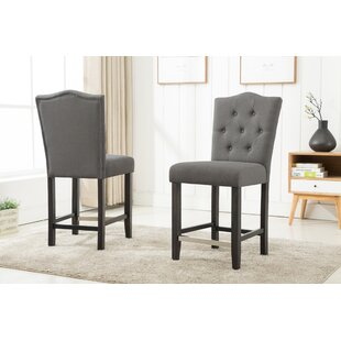 Fontanne Counter Height Upholstered Dinning Chair (Set of 2)