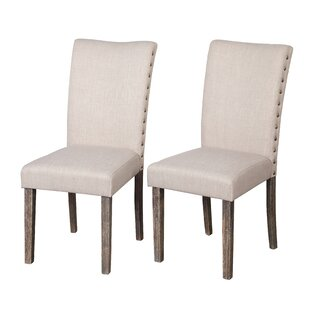 Gracie Oaks Howie Parsons Dining Chair (Set of 2)